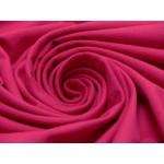 Jersey Uni - einfarbig pink