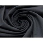 Jersey Uni - einfarbig schwarz