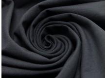 REST 40cm Jersey Uni - einfarbig schwarz