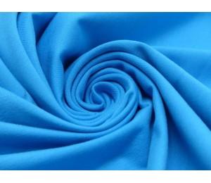 Jersey Uni - einfarbig kräftig türkisblau