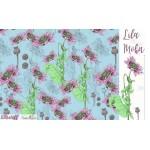 Bio Jersey Lillestoff - Lila Mohn
