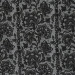 Sweat - Boris Lace Spitze schwarz grau anthrazit