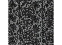 REST 1m Sweat - Boris Lace Spitze schwarz grau anthrazit
