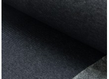 Alpenfleece Jeans dunkelblau schwarz