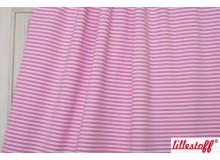 Sommersweat Bio Bärenliebe Ringel rosa Lillestoff