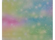 Burlington - Glitzer Sparkel Universe pastell