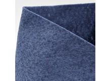 Filz SULKY® FELTY, waschbar, 25cm x 3m - blau meliert