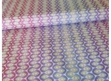 Baumwolle - Patchwork Enhanched Forest lila Farbverlauf