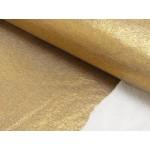 Alpenfleece glitzer Lurex goldfarben