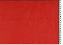 Kunstleder Crinkle rot