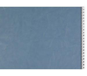 Kunstleder Crinkle rauchblau