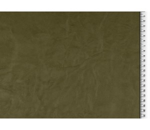 Kunstleder Crinkle olive dunkelgrün
