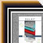 """Filz SULKY® FELTY, waschbar, 12Bögen á 29,5x21cm - Sortiment """"hell-dunkel"""""""