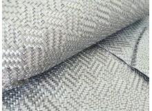 Kunstleder Struktur geflochten silber