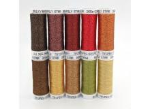 SULKY® POLY SPARKLE 30 - Glittering Autumn (10 x 265m Snap Spulen)