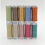 SULKY® POLY SPARKLE 30 - Glittering Pastel (10 x 265m Snap Spulen)
