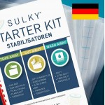 SULKY® STARTER KIT - Stabilisatoren (in Deutsch) - mit 15 Musterbögen